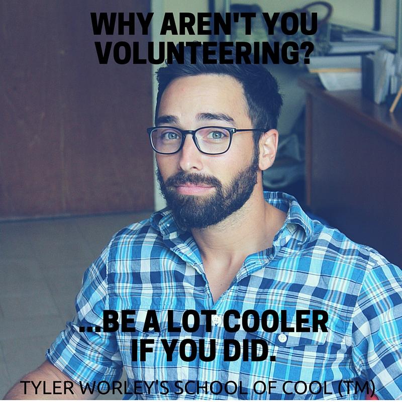 why aren't you volunteering_